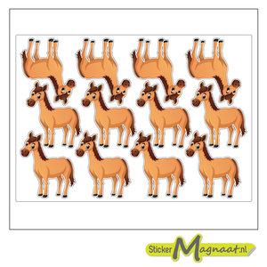 Dieren stickers paard