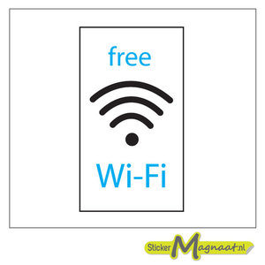free wifi stickers