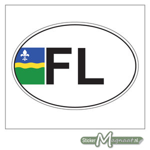 Provincie Sticker Flevoland