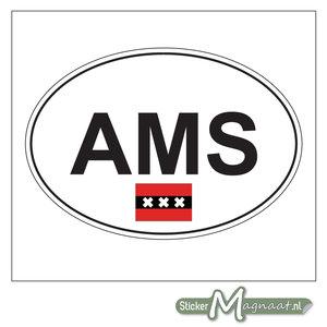 Auto Sticker Amsterdam