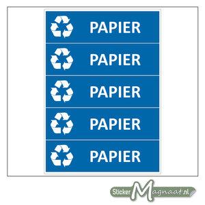 Kliko stickers Papier