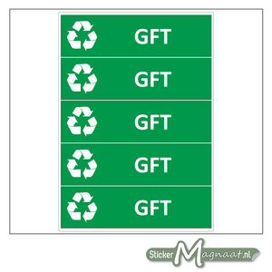 Kliko stickers GFT
