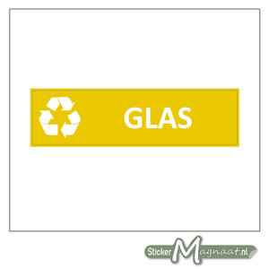 Kliko sticker Glas