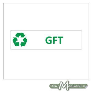 Afval sticker GFT