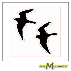 Tegelsticker Vogel Sjabloon Kopen Stickermagnaat Nl