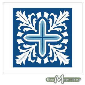 Tegel Stickers Portugees Marokkaans