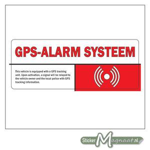 Sticker GPS Alarm Systeem