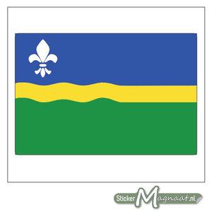 Vlag Flevoland Stickers