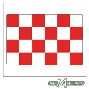 Vlag Noord-Brabant Stickers