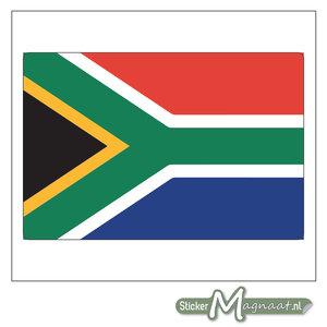 Vlag Zuid-Afrika Sticker