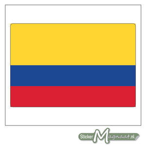 Vlag Colombia Sticker
