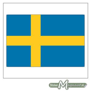 Vlag Zweden Sticker