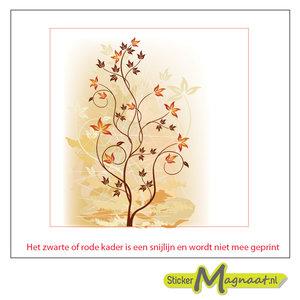 Tegelsticke plant herfst