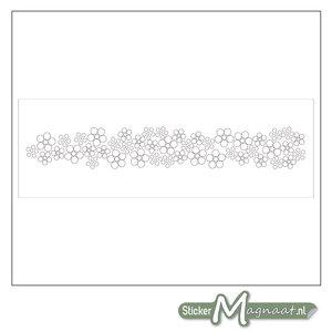 Raamdecoratie Stickers - 2 Stuks - Bloem