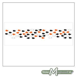 Raamdecoratie Stickers - 2 Stuks - Vis