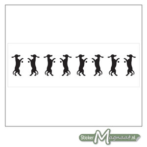 Raamdecoratie Stickers - 2 Stuks