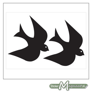 Raamdecoratie Stickers - Vogels