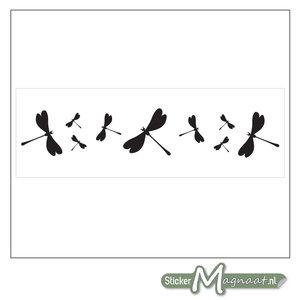 Raamdecoratie Stickers - 2 Stuks - Libelle