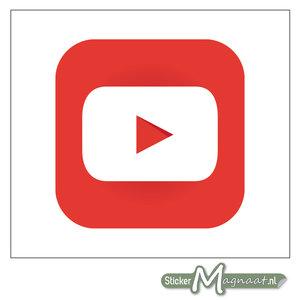 YouTube Logo Stickers