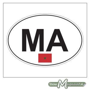 Auto Stickers Marokko
