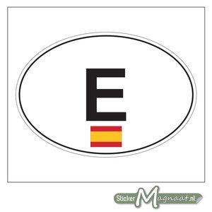 Auto Stickers Spanje