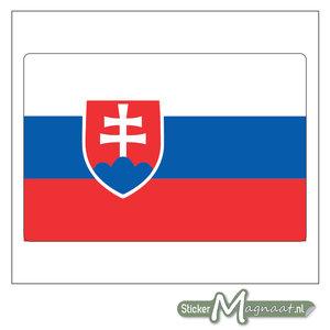 Vlag Slowakije Sticker