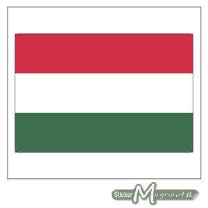 Vlag Hongarije Sticker