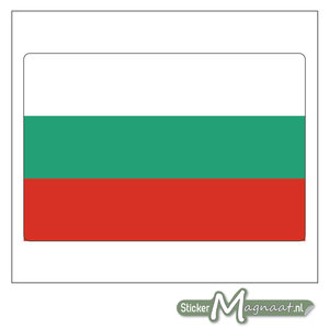 Vlag Bulgarije Sticker