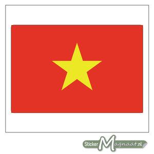 Vlag Vietnam Sticker