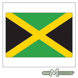 Vlag Jamaica Sticker
