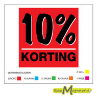 kortingstickers