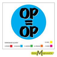 Op=Op sticker